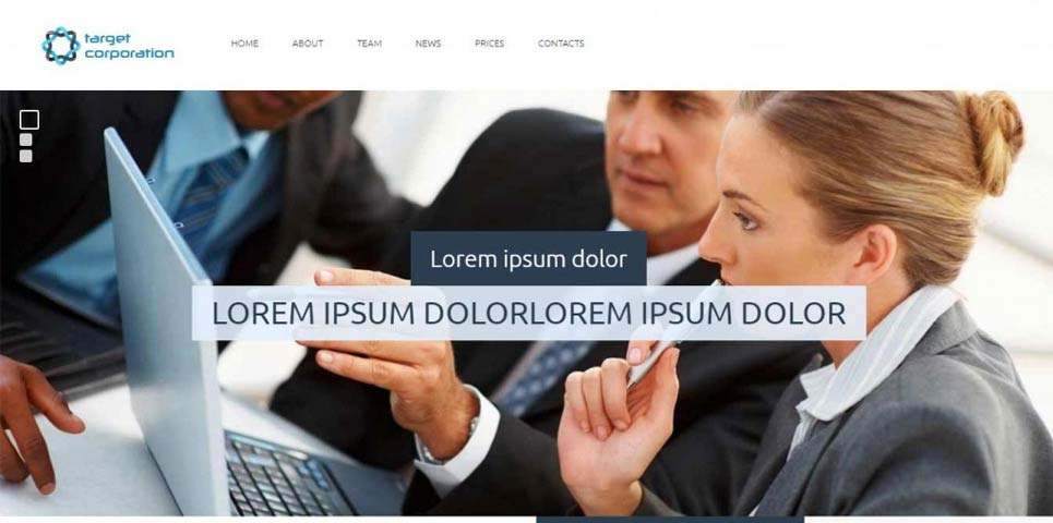 Free Responsive Website Templates Free Template Bazaar Free - Responsive website templates free download for business